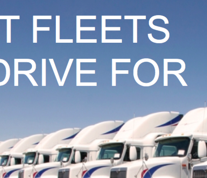 Best Fleets To Drive For