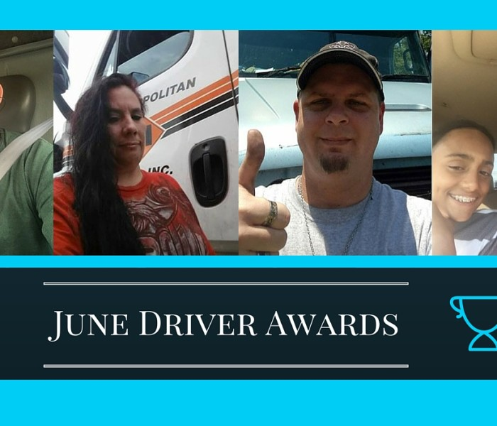 Driver Awards June 2016